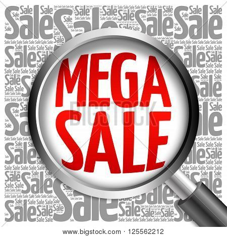 Mega Sale Word Cloud