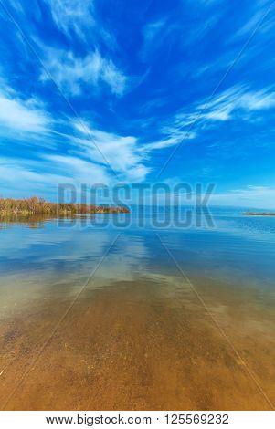 Landscape Of Kinneret Lake - Galilee Sea