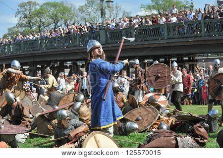 Saint-Petersburg Russia - 15 May 2010: Festival