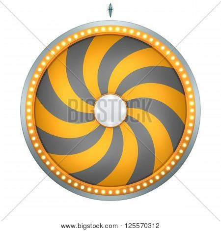 Lucky Spin Twirl 16 Area Orange