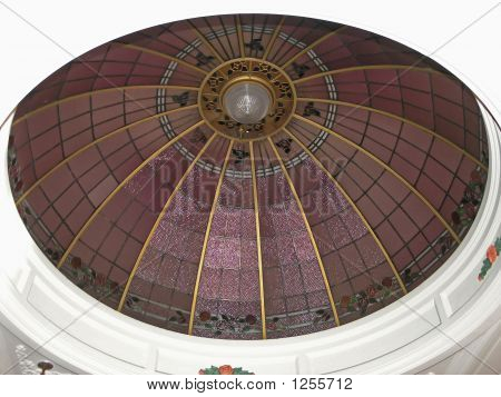 Art Deco Ceiling Dome