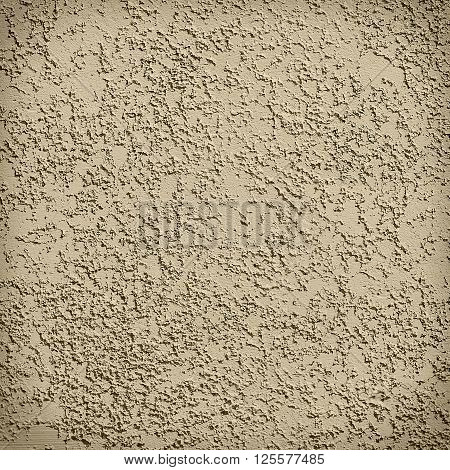 Grunge Background - Seamless Texture Stucco Of Ochers Color