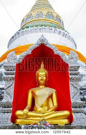 Budha In Pagoda