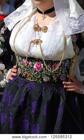 Tradition and Folk of Sardinia - Santa Rughe