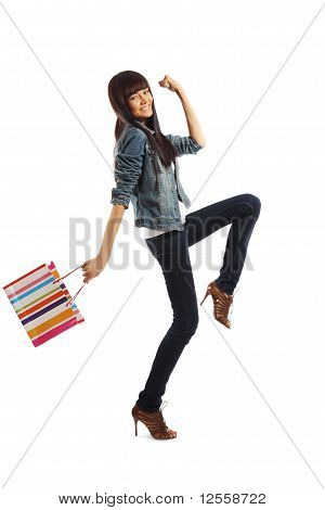 Woman Going Shopping
