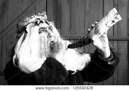 Zeus With Horn