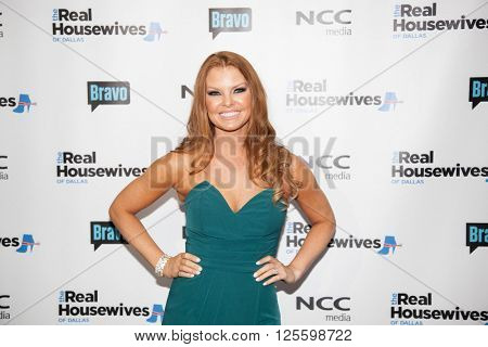 DALLAS, NY-APR 5: TV personality Brandi Redmond attends The Real Housewives of Dallas premiere party at The Chandelier Room on April 5, 2016 in Dallas, Texas.