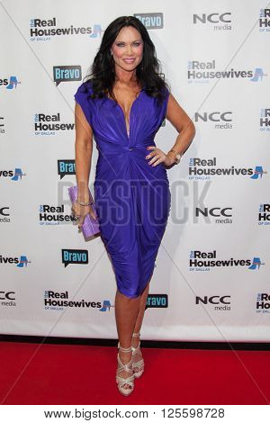DALLAS, NY-APR 5: TV personality LeeAnne Locken attends The Real Housewives of Dallas premiere party at The Chandelier Room on April 5, 2016 in Dallas, Texas.