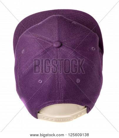 sports cap isolated on a white background .