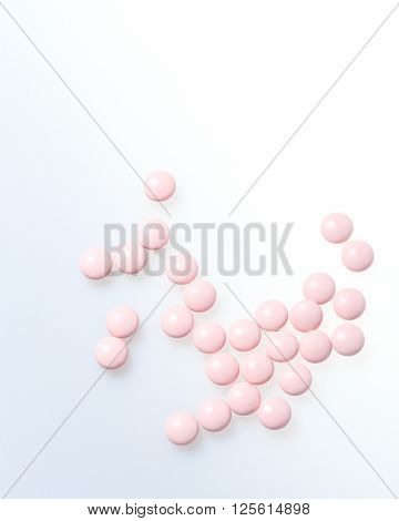 Vitamins closeup. Health concept. Health care. Vitamin complex
