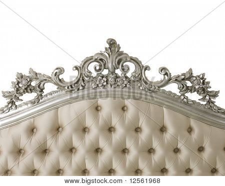 Luxury Furniture isolated on white