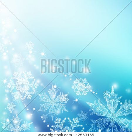 Beautiful Winter Background