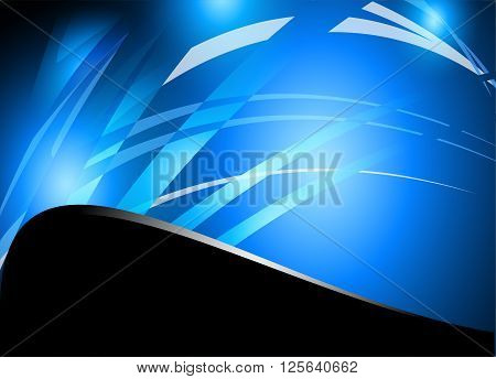 Abstract blue background vector. Abstract vector background