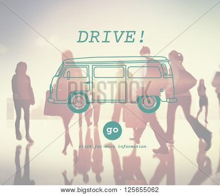 Drive Automobile Driver Driving Transport Trip Concept