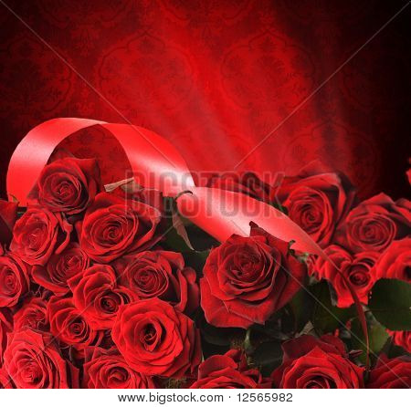 Red Roses for st.Valentine's Day