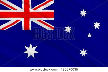 Flag of Australia officially known as the Commonwealth of Australia is an Oceanian country comprising the mainland of the Australian continent the island of Tasmania and numerous smaller islands.