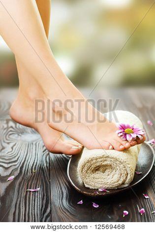 Spa pés