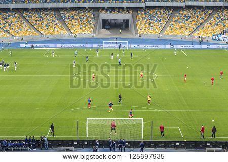 Nsc Olympic Stadium (nsc Olimpiyskyi) In Kyiv, Ukraine