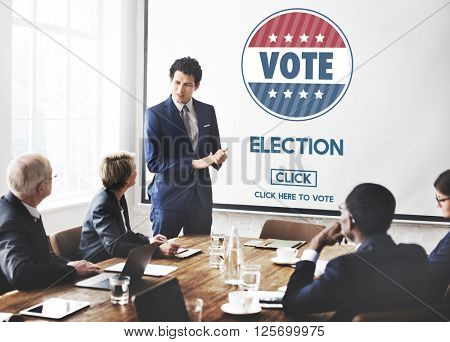 Election Vote Government Choice Voting Concept