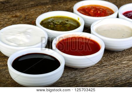 Sauces Assortie