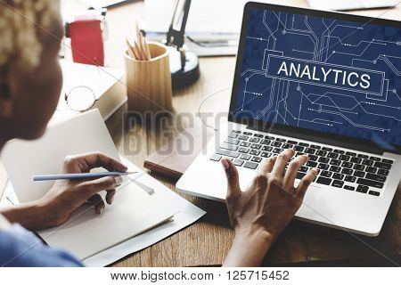 Analytics Analyze Data Analysis Information Research Concept