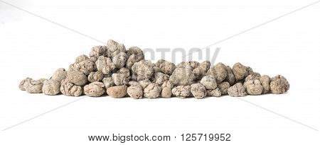 Pile Of Expanded Clay