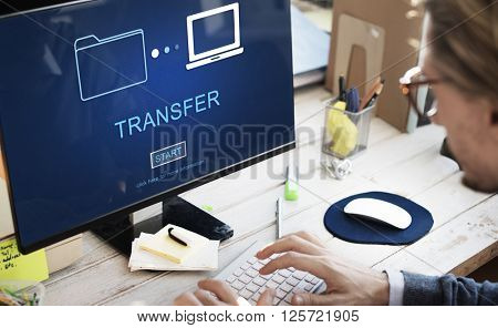 Transfer Files Data System Relocation Concept