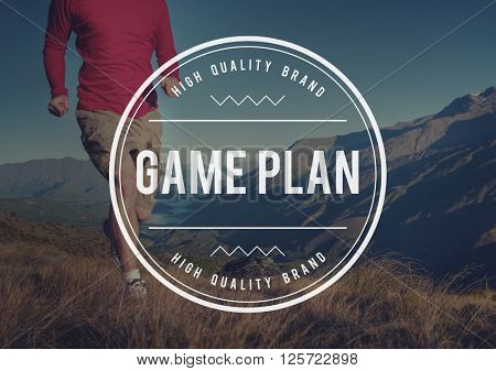 Mission Game Plan Tactics Planning Objective Concept
