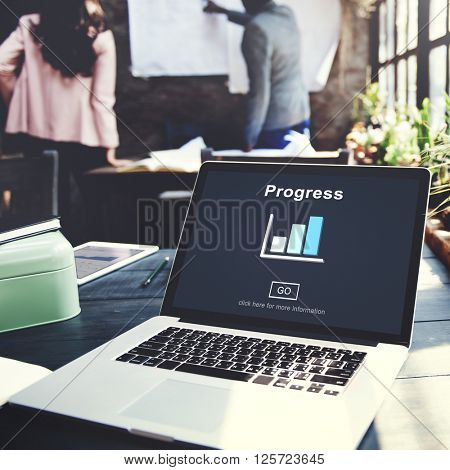 Progress Development Imrprovement Advancement Concept