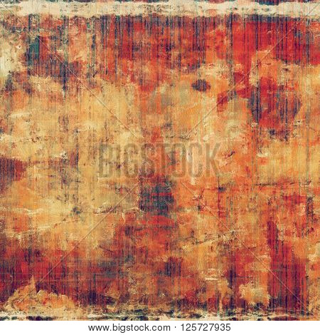 Abstract grunge background or damaged vintage texture. With different color patterns: yellow (beige); brown; purple (violet); red (orange); pink