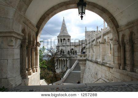 Castle, Hungary, Budapest; Autumn