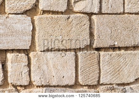built of lime stone wall is like stability
