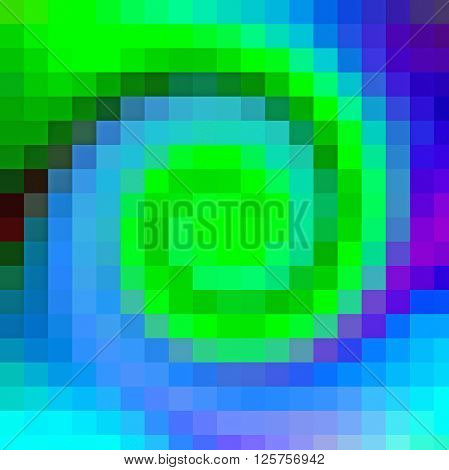 The abstract background with visuel effect, mosaic