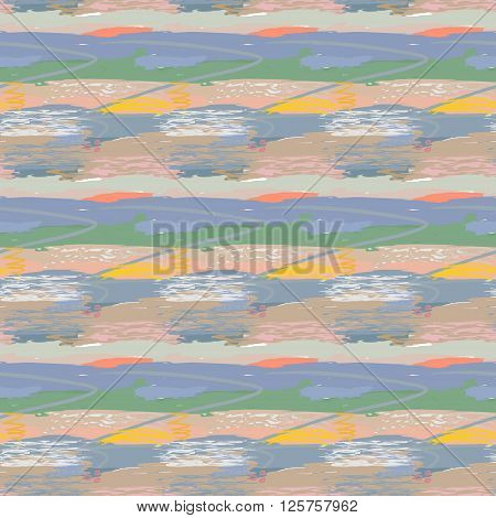 Abstract palette of pastel colors mix color background vector illustration a mixture of colors stains with a spray the author's work.