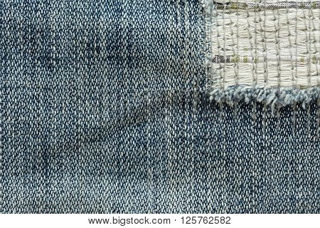 Denim Jean Texture Design Of Jeans Background