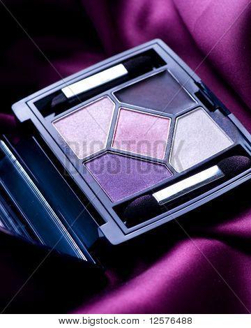 Eye Shadow Closeup.Professional Make-up