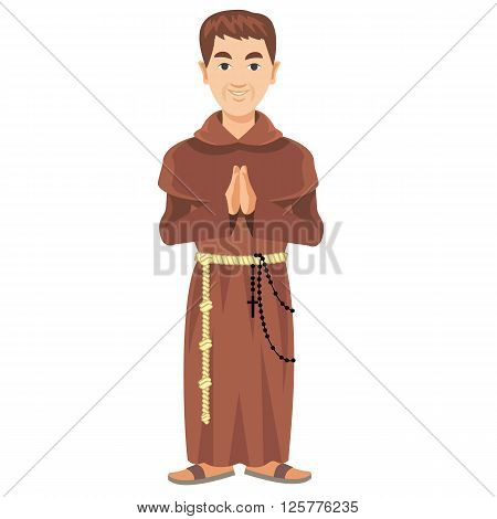 Franciscan Monk-01.eps