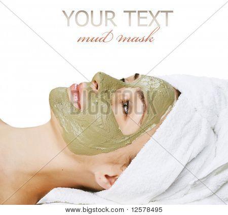 Spa Facial Mud Mask.Dayspa