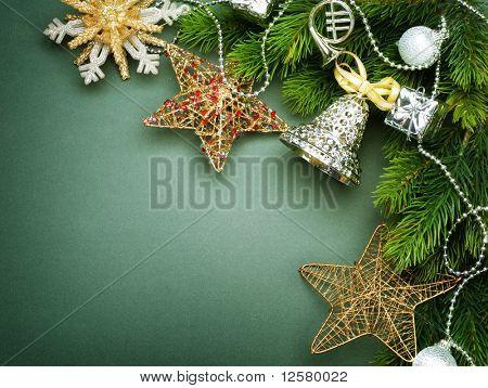 Weihnachts-Grenze-Design.Vintage Stil