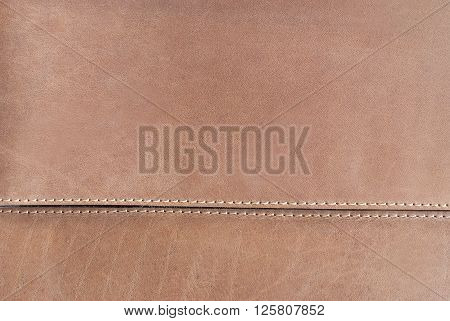 Leather Texture - Close Up Of  Elegant And Natural Leather Material Surface