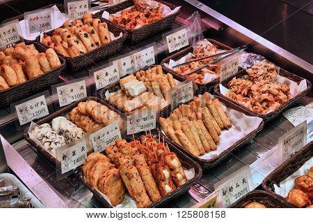 Japanese Food In Kyoto