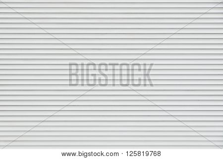 White Horizontal Metal Roller Blinds