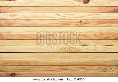 Horizontal Pine Wooden Planks Texture