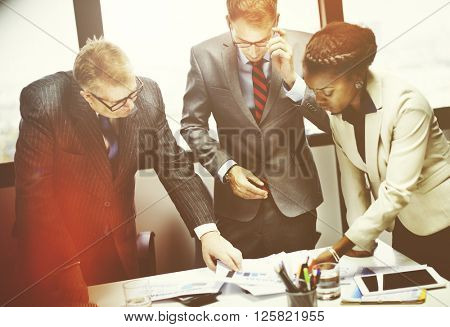 Collaborate Alliance Assistance Business Union Concept