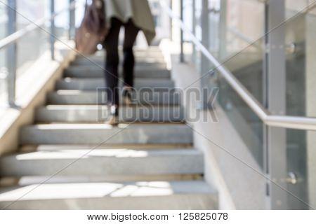 Blur Stairs Background
