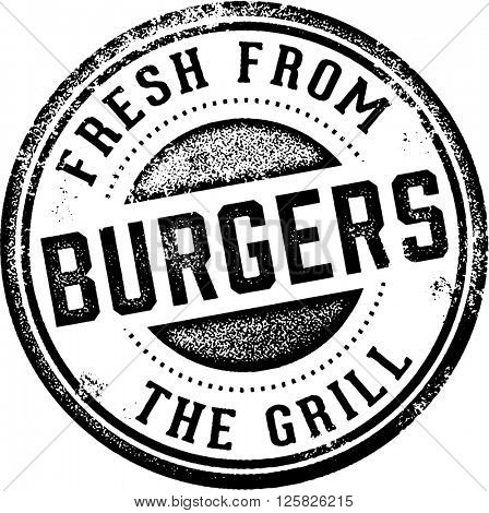 Burgers Fresh from the Grill