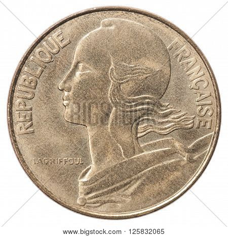 French Centimes Coin