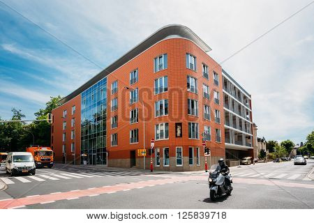 Luxembourg, Luxembourg - June 17, 2015: The Building Of The Germany Embassy In Luxembourg