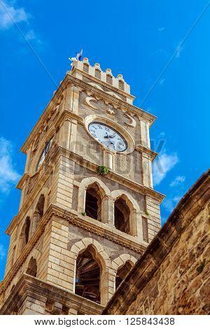 Khan Al-umdan Clock Tower, Acre