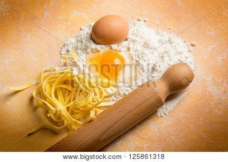 homemade pasta ingredients